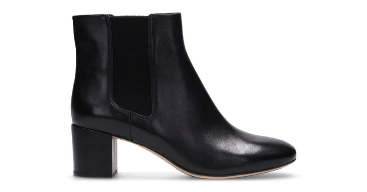 Orabella Anna Black Leather | Clarks