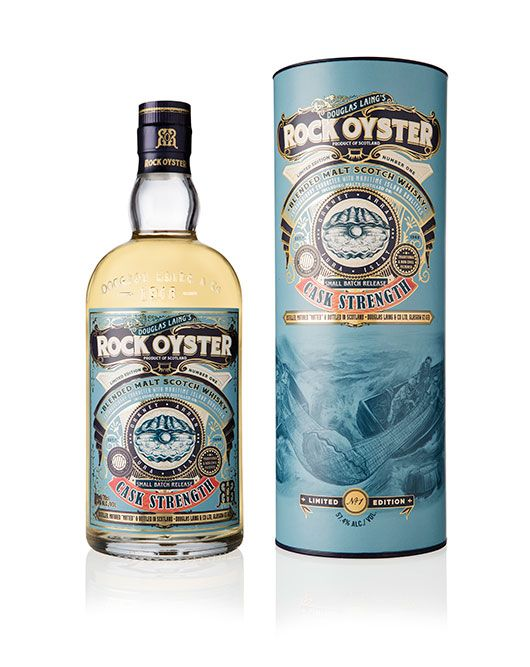 Introducing Douglas Laings Rock Oyster Cask Strength Limited Edition