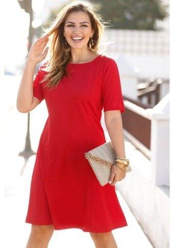 Vypasované šaty bez rukávov #Modinosk #dress &basic #style