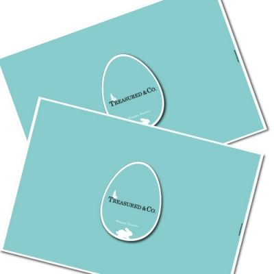 treasured easter (set of 2) - stylish easter sous-plat / place mats  Our stylish and unique easter place mats make a very useful & original gift for the home. You have the choice of elegant colours and designs that you can mix and match to design a unique combination. #storymood #easter #gifts #placemats