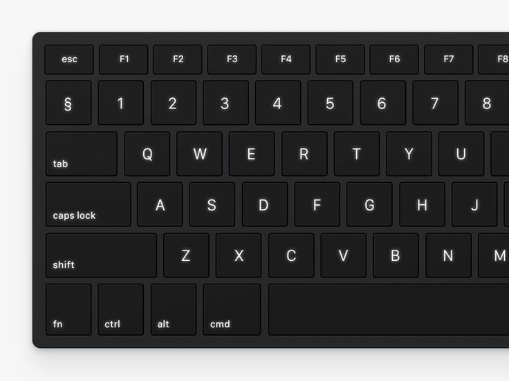 What if standard laptop keyboard will be a little smarter?  Here is how it can be: when you press the button, which represent the beginning of the hotkey, the keyboard turns off backlight of the ke...