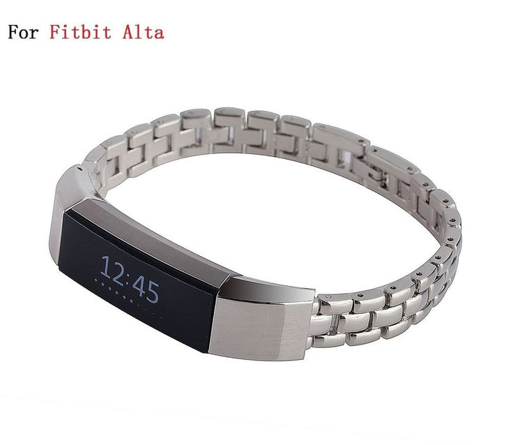 Workout Metal Bands: STAINLESS STEEL SHINE Wristband Strap Band Bracelet