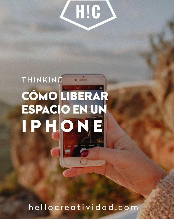 No te desesperes. Te contamos cómo liberar fácilmente espacio en tu Iphone