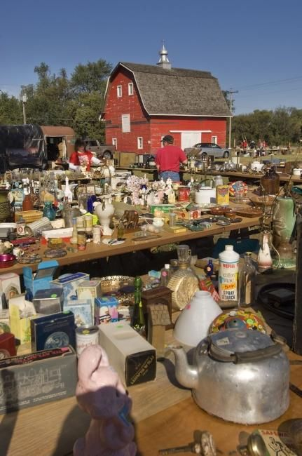 Put The Junk Jaunt on your calendar, Sept. 26th-29th!  Many of our loyal customers base out of Grand Island for this 300 mile long yard sale on the scenic byways and highways of central Nebraska.  We will be offering extended hours, open till 8:00 Sept 25-28, so start and finish at Railroad Towne Antique Mall.  Customers tell us they often find as good of prices with us, as out on the Jaunt!