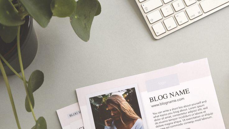 media kit blogger - free media kit template download