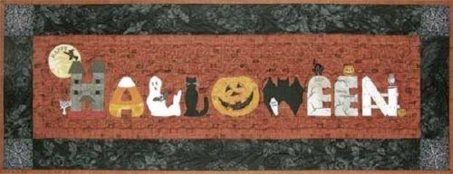 Happy-Halloween-Runner-Happy-Hollow-Designs-Quilt-pattern-Quilting-Crafts-Tabl
