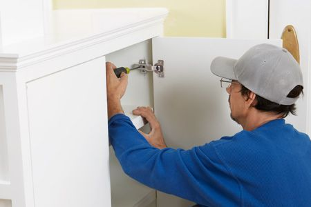 Whether you're hanging new cabinet doors or swapping out old hinges, concealed or Euro-style hinges are a dream to install. Learn how here. | Photo: Ryan Benyi | thisoldhouse.com
