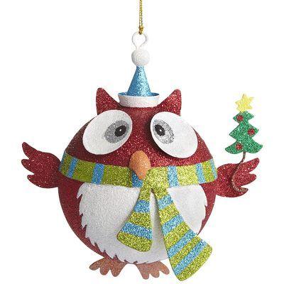111 best My Owl Ornaments images on Pinterest  Owl ornament