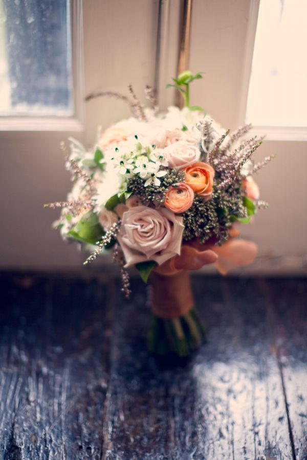 Photgraph by Three Nails Photography   Flowers by Adore Floral    Soft with just enough pops of color