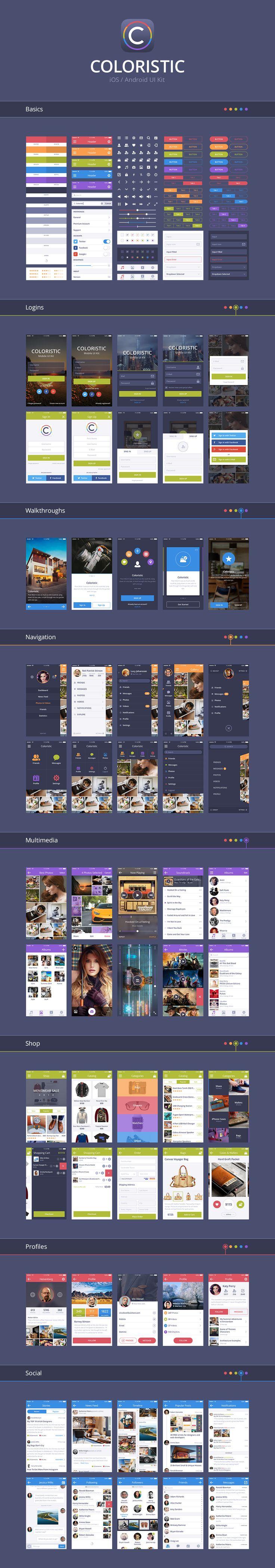 app - Coloristic UI Kit