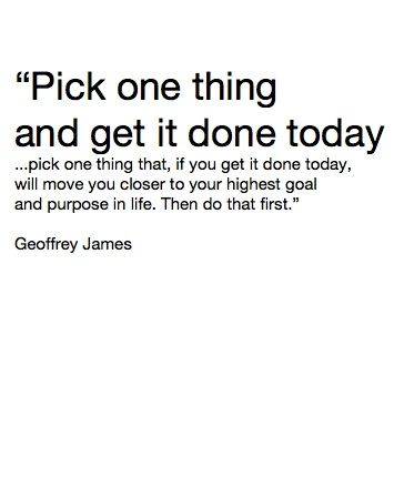You Dont Have To Do A Lot You Dont Have To Do Everything Pick