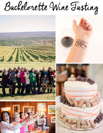 How to plan a wine tasting bachelorette party