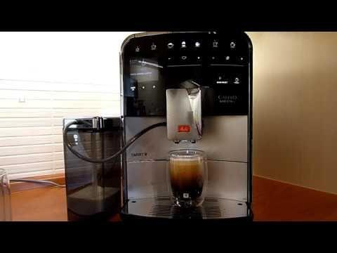 Touch Bedienung Melitta Caffeo Barista Ts Smart Einfache Maschinen