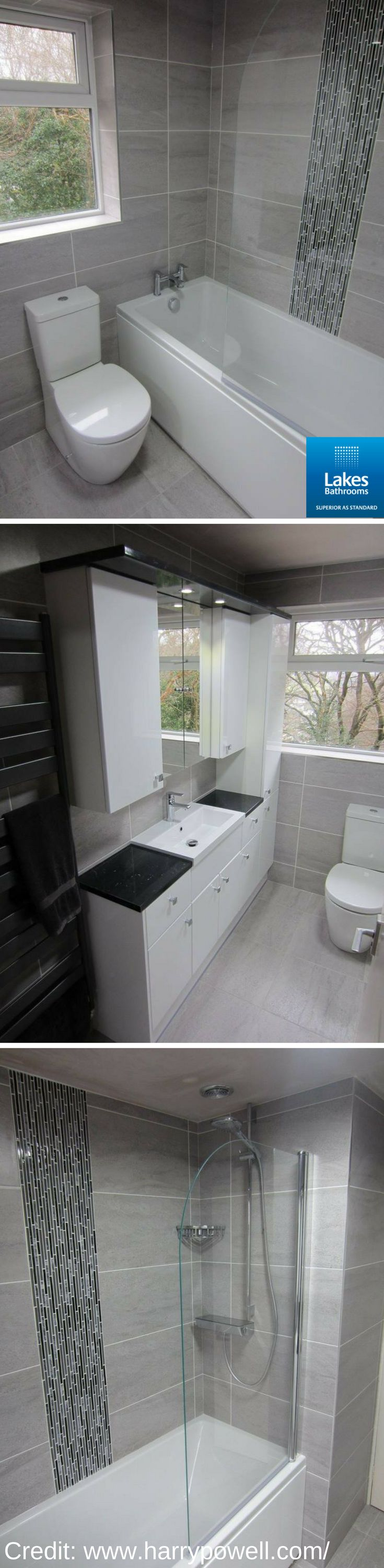 Great to see our Curved Bath Screen used in yet another #RealLakesBathrooms. Great job by Harry Powell (http://www.harrypowell.com/)  #bathroomremodel #bathroomideas