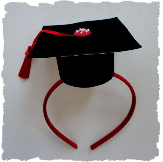For my Graduation PARTY!!! :) Graduation Headband!