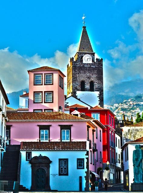 Funchal, Madeira island, #Portugal http://www.travelandtransitions.com/destinations/destination-advice/europe/madeira-portugal/