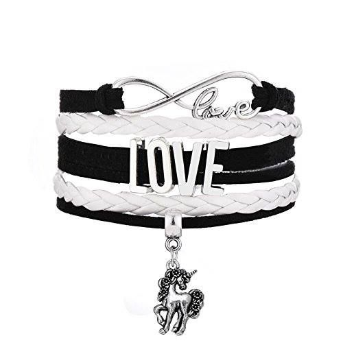 Shop https://goo.gl/hMy9zh   Tibetan Silver Tone Handmade Woven Multilayer Leather Wristband Bracelet Infinity Love Unicorn Charm (White)    8.99 $  Go to Store https://goo.gl/hMy9zh  #Bracelet #Charm #Handmade #Infinity #Leather #Love #Multilayer #Silver #Tibetan #Tone #Unicorn #White #Woven #Wristband