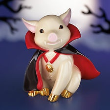 Lenox Dracula Porkula Pig Figurine Bran New in Box | eBay
