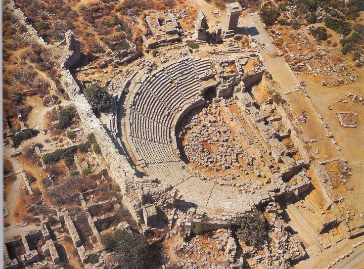 Theater at Xanthos, Turkey