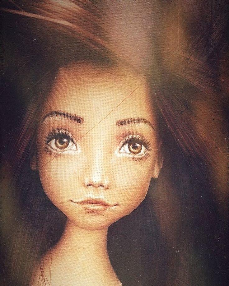 Новое начало... #лицо#кукла#портрет#работавпроцессе #сфильтром #спецэффекты #роспись #текстильнаякукла #ручнаяработа #процесс #текстильнаяшарнирка #куклыеленыхайдуковой #art#work #handmade #doll#face#artdoll#fabricdoll #arttextile #toy #portrait #idraw #workinprogress #girl #dollstagram