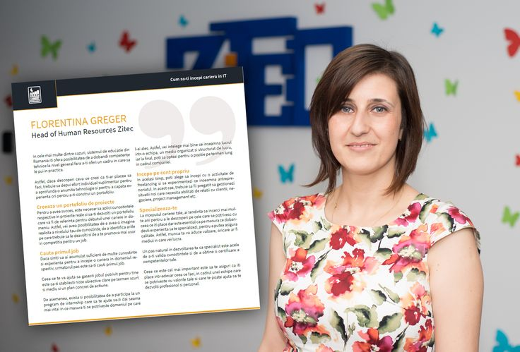 If you're at the beginning of your IT career, this e-book with tips and tricks from 20 specialists is for you!  Many thanks to the STEP It Academy Bucharest for inviting us to be a part of it.