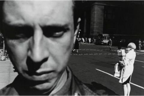 Lee Friedlander - New York City (Self-Portrait) (1948)