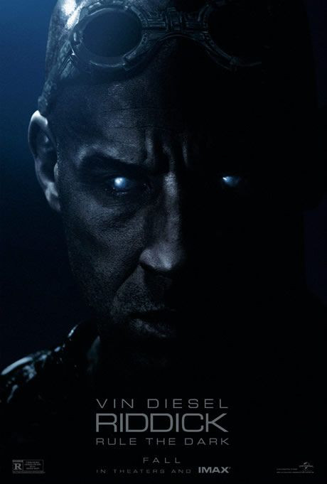 Riddick First Trailer and Poster with Vin Diesel, Katee Sackoff