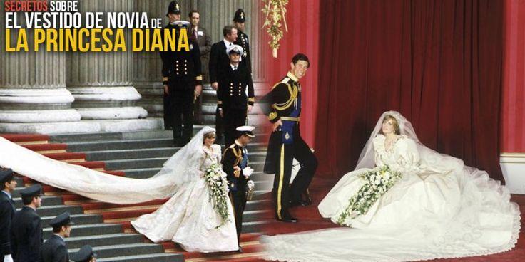 Todo lo que no sabías sobre el vestido de novia de la Princesa Diana...
