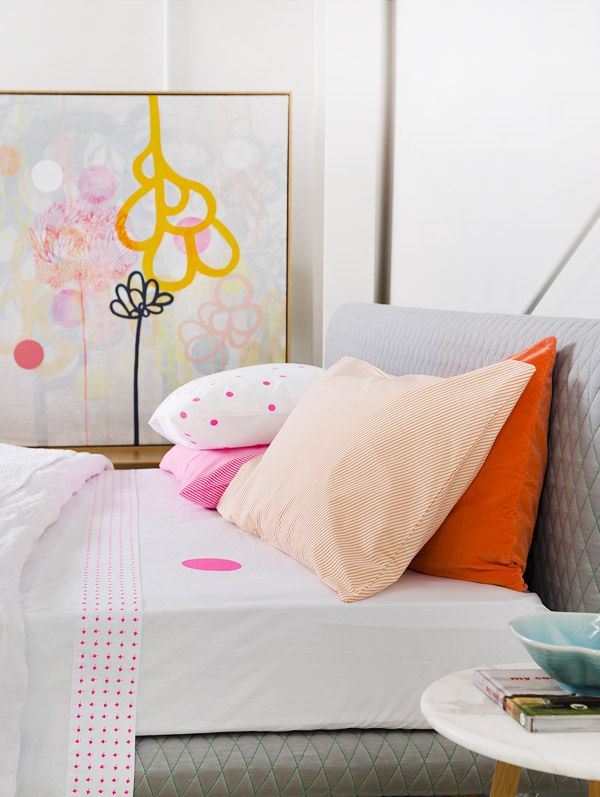 Rachel Castle bedlinen via the design files