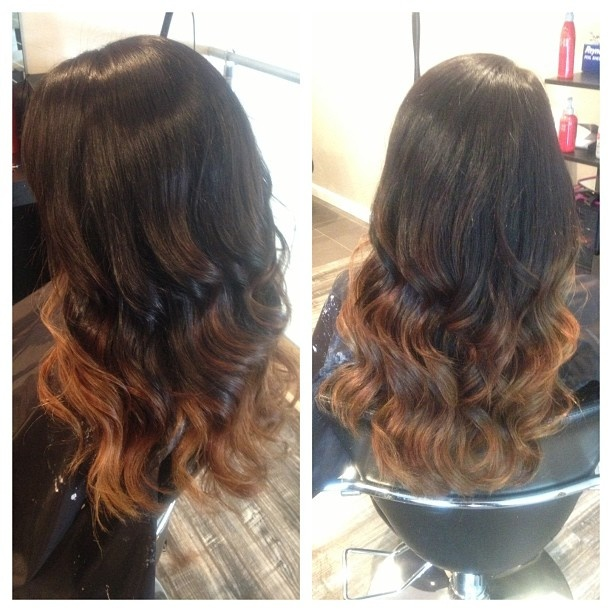 Dark Brown To Caramel Ombre Tumblr   www.imgkid.com - The ...