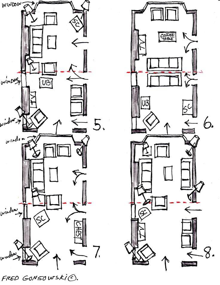 Best 25 Narrow Rooms Ideas On Pinterest Long Narrow Rooms Long Living Rooms And Living Room