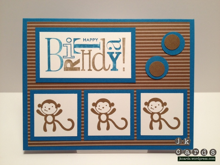 "Stampin' Up!, Kids Birthday, Fox & Friends, Happiest Birthday Wishes, Neutrals Stack Designer Series Paper, 1 3/8"" Square Punch, 3/4"" & 1/2"" Circle Punches"