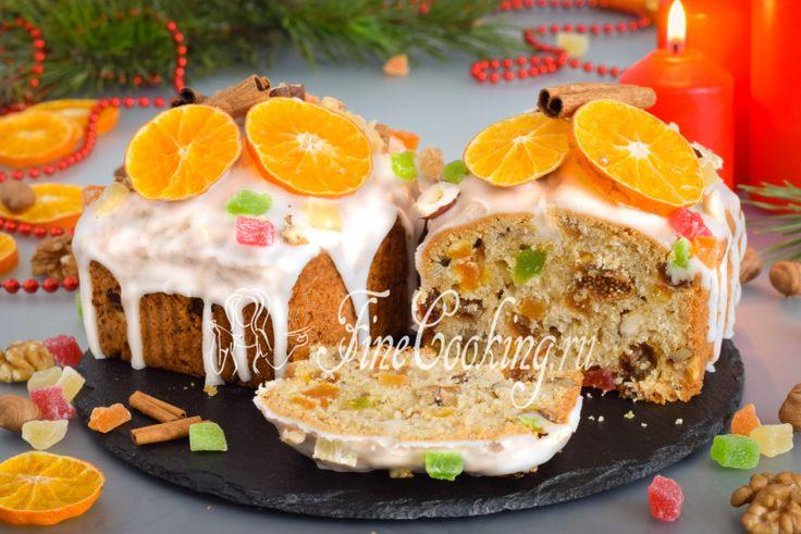 У меня полным ходом идет подготовка к Рождеству и Новому 2018 году, поэтому сегодня делюсь с вами новым рецептом рождественского кекса.
