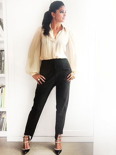 Rachel Roy...She is my inspiration, she's always is on top of the game. Definition of #Eat.Fash.Glam.