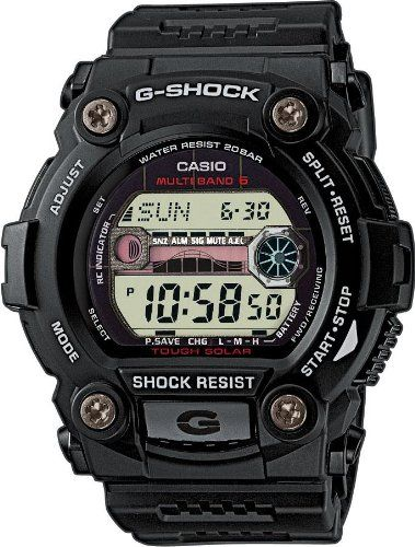 G-Shock Men's Quartz Watch with Grey Dial Digital Display and Black Resin Strap GW-7900-1ER: G-Shock: Amazon.co.uk: Watches