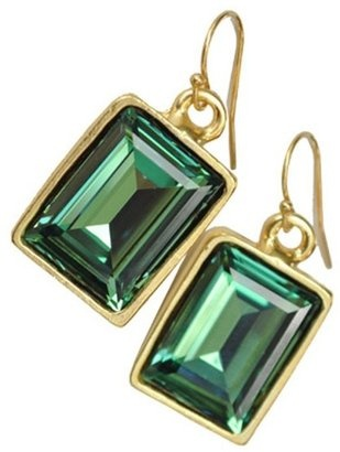 POPSUGAR Shopping: Diana WarnerEmerald Earrings