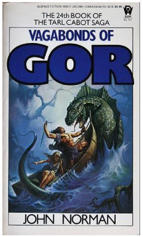 Gor Book Cover Art : Vagabonds of gor by john norman isbn