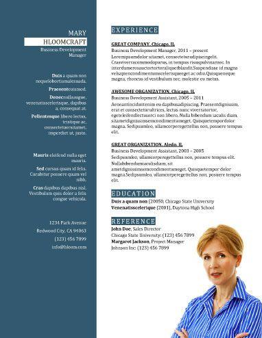 34 best solliciteren images on Pinterest Resume templates - business development assistant sample resume