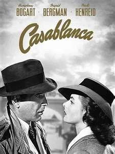 Casablanca made in 1942 starring Humphrey Bogart and Ingrid Bergman.Film, Casablanca Wedding Theme, Blu Ray 1942, Humphrey Bogart, Casablanca Bluray, Ingrid Bergman, Favorite Movie, Stars Humphrey, Casablanca Blu Ray