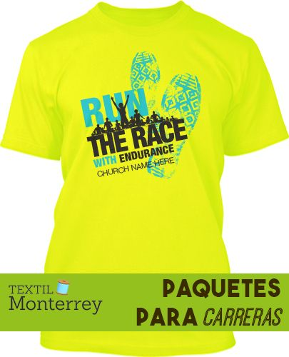 Playeras dry fit para carreras