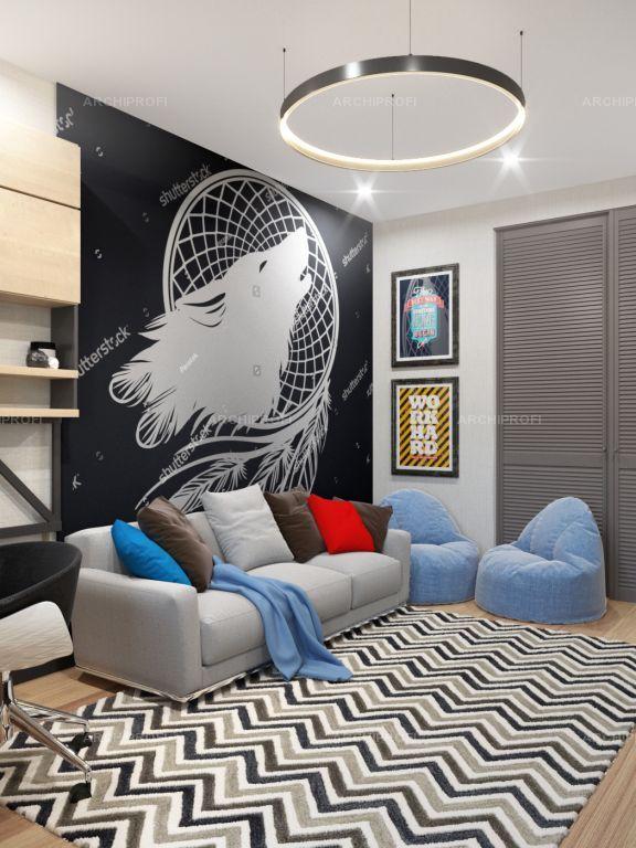 Interior design by VITTAGROUP Дизайн квартиры в ЖК Смежный Детская комната Елена Пономаренко