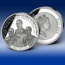 """Pamětna mince """"Rok tří králů 1936"""""""