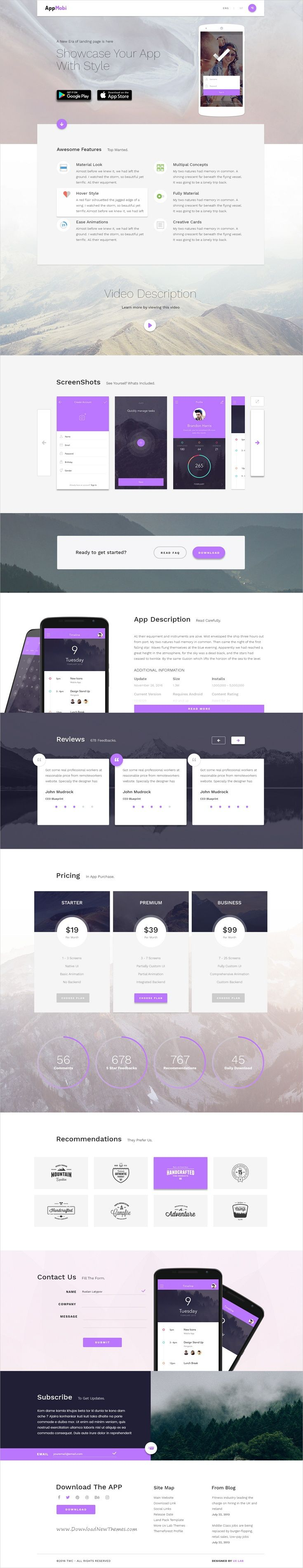 AppMobi is the perfect #Adobe #Muse template for promoting your #app or #software presentation website download now➩ https://themeforest.net/item/appmobiperfect-presentation-websitelandingpage-for-your-app-or-software/19520100?ref=Datasata