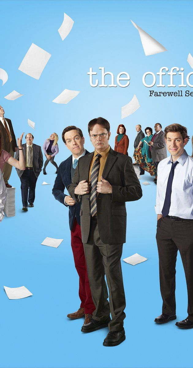 Created by Greg Daniels, Ricky Gervais, Stephen Merchant.  With Rainn Wilson, John Krasinski, Jenna Fischer, Leslie David Baker. A mockumentary on a group of typical office workers, where the workday consists of ego clashes, inappropriate behavior, and tedium. Based on the hit BBC series.