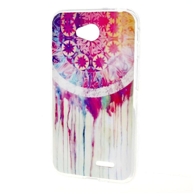LG Optimus L90 Case , Leathlux Colorful Dream Catcher Skin Soft TPU Flexible Protective Rear Case Cover For LG Optimus L90 / D415 / D405