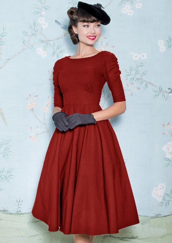 6f6c50018e287 October swing dress in red | pre order in 2019 | F/W CAPSULE | Swing ...