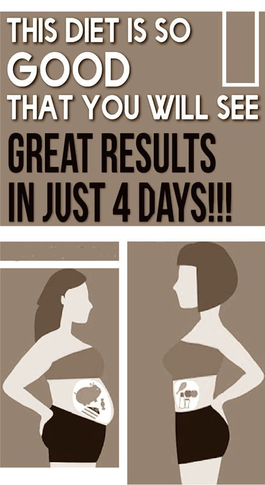 This Diet Is So Good, That You Will See Great Results In Just 4 Days