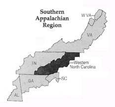 southern appalachian region