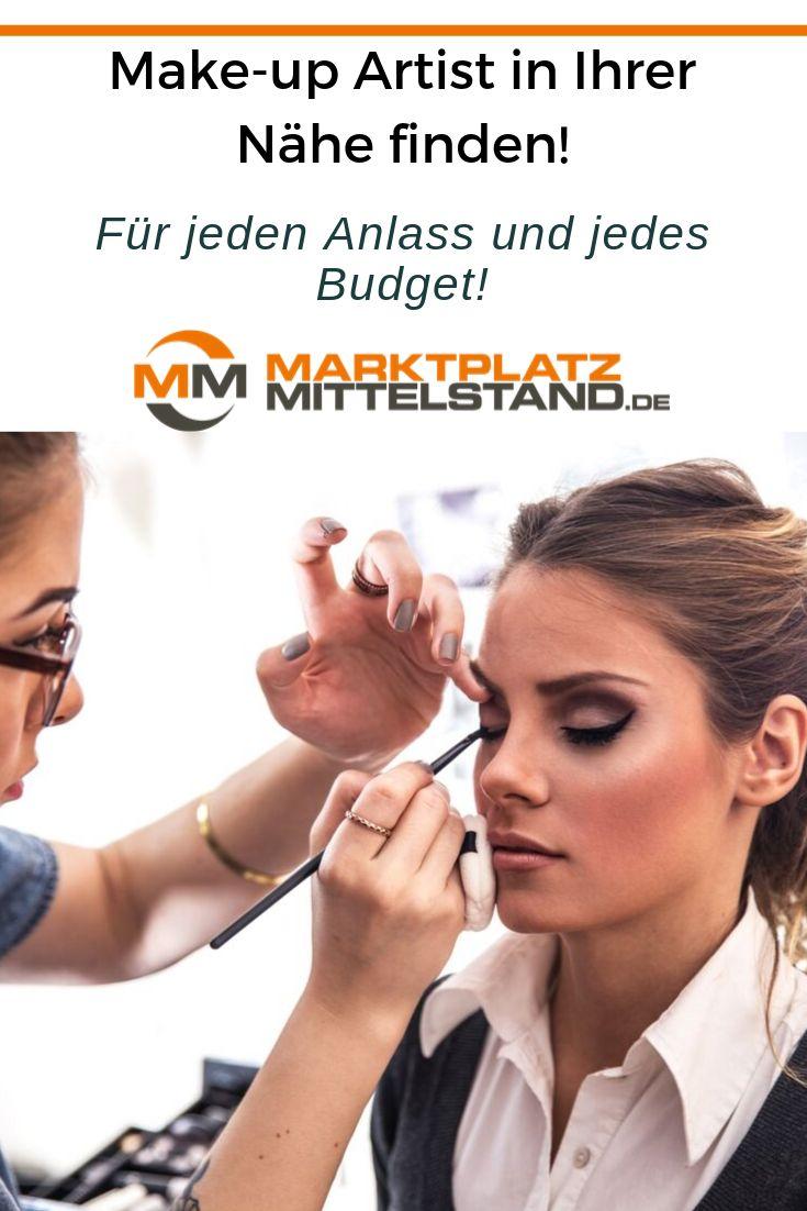 Make-Up Artist in der Nähe finden | Marktplatz-Mittelstand