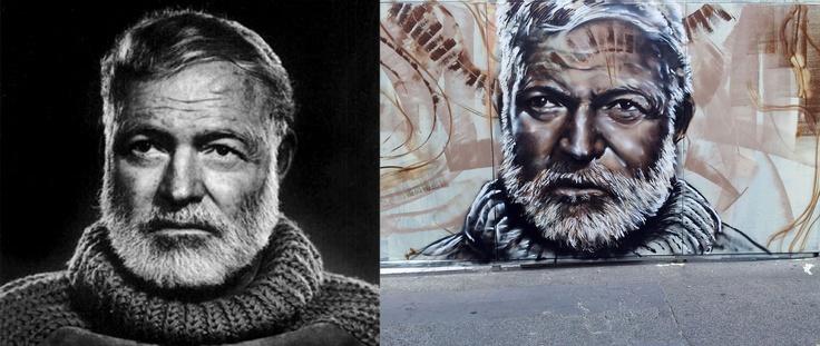 Hemingway. Photograph Jon Vicente.